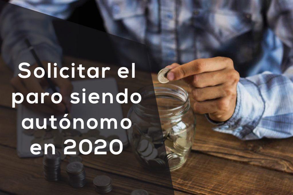 solicitar paro autonomo 2020