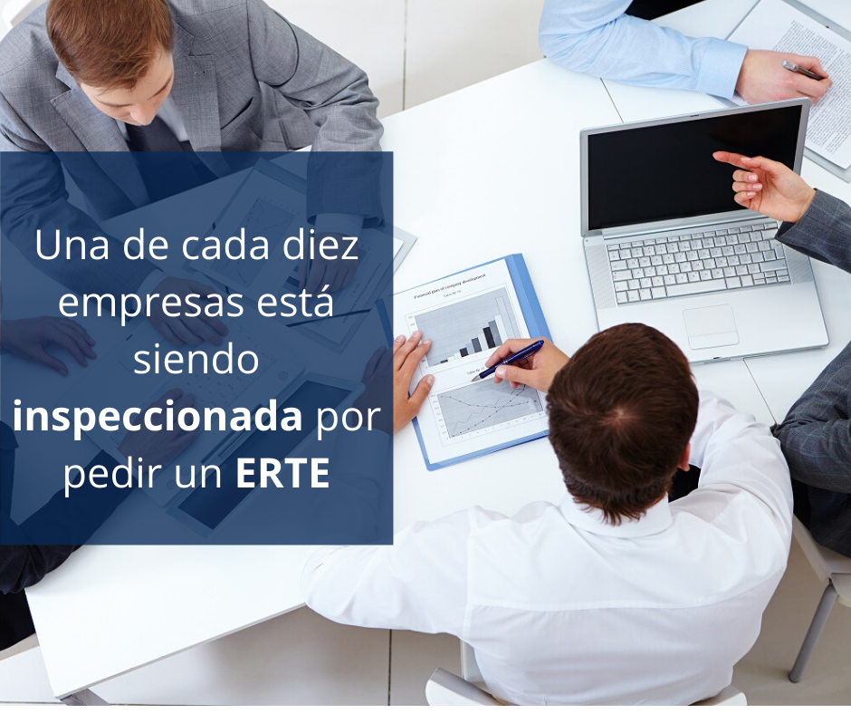 Una de cada diez empresas está siendo inspeccionada por pedir un ERTE